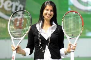 Lina Berankytė Astrauskienė, teniso raketės svoris